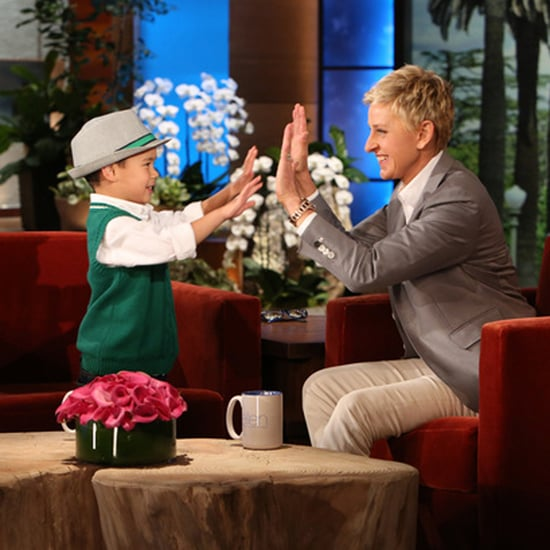 "Kai Sings Katy Perry's ""Roar"" on The Ellen Show 