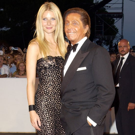 Gwyneth Paltrow and Valentino Garavani were in the spotlight on opening night in 2002.