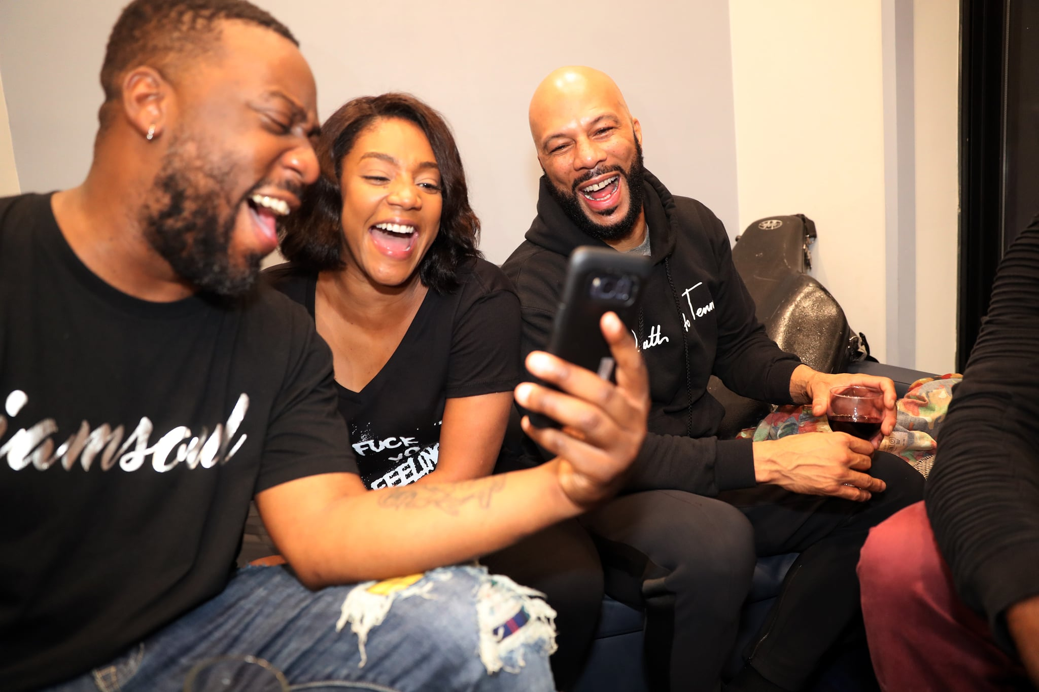 Tiffany Haddish And Common S Cute Pictures Together Popsugar Celebrity