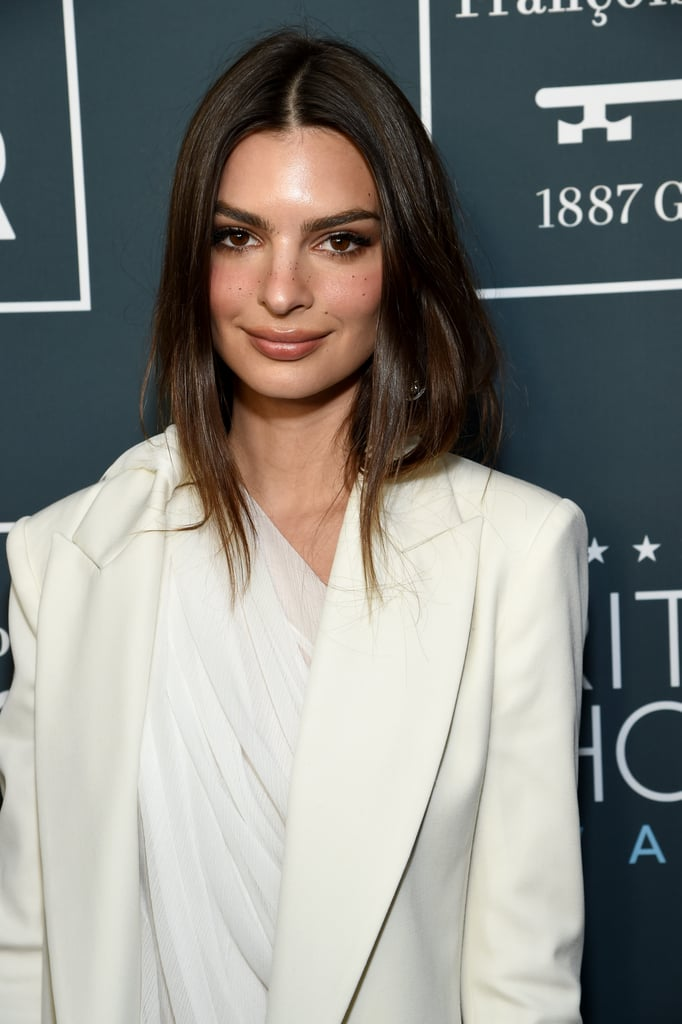 Emily Ratajkowski at the 2020 Critics' Choice Awards