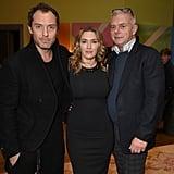 Jude Law and Kate Winslet Wonder Wheel Screening