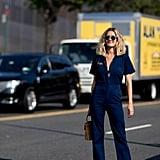 Anne-Laure Mais at New York Fashion Week
