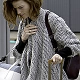 Rose Leslie Wearing Her Gorgeous Engagement Ring