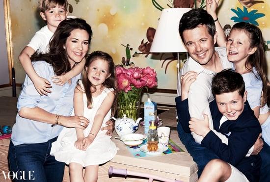 Princess Mary and Family: Mario Testino Vogue Australia 2016