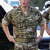 Prince Harry visited Up-Park Camp in Jamaica.