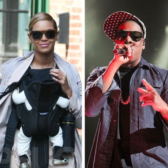 Beyonce and Blue Ivy Walking Around New York Video