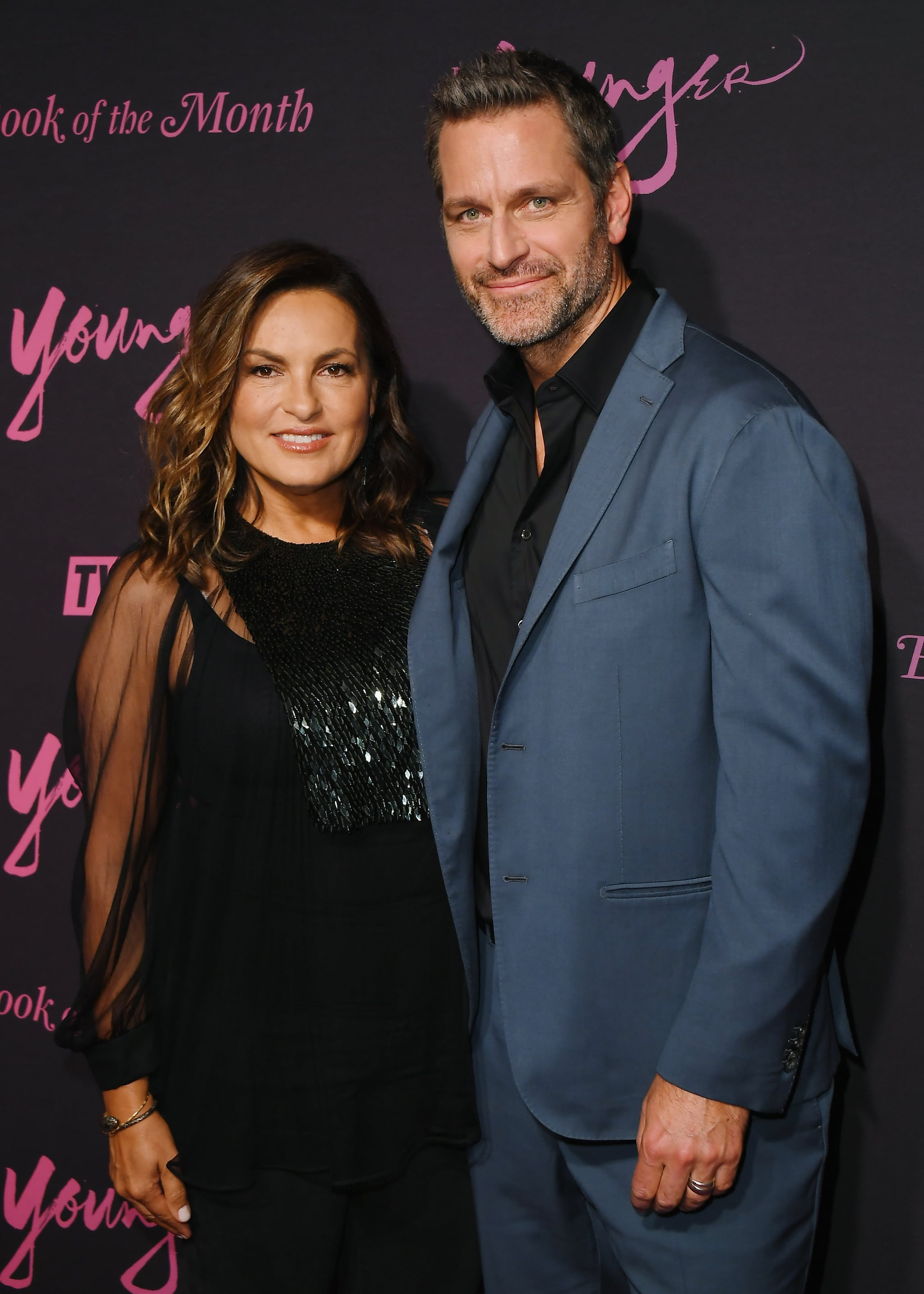 NEW YORK, NEW YORK - JUNE 04: Mariska Hargitay and Peter Hermann attend the screening of