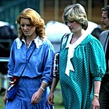 "Princess Diana and Sarah Ferguson were not only childhood friends, but they were also actually related prior to becoming sisters-in-law. Sarah, who is better known by Fergie, told Harper's Bazaar back in 2007, ""We were fourth cousins, and our mothers, who went to school together, were also best friends."""