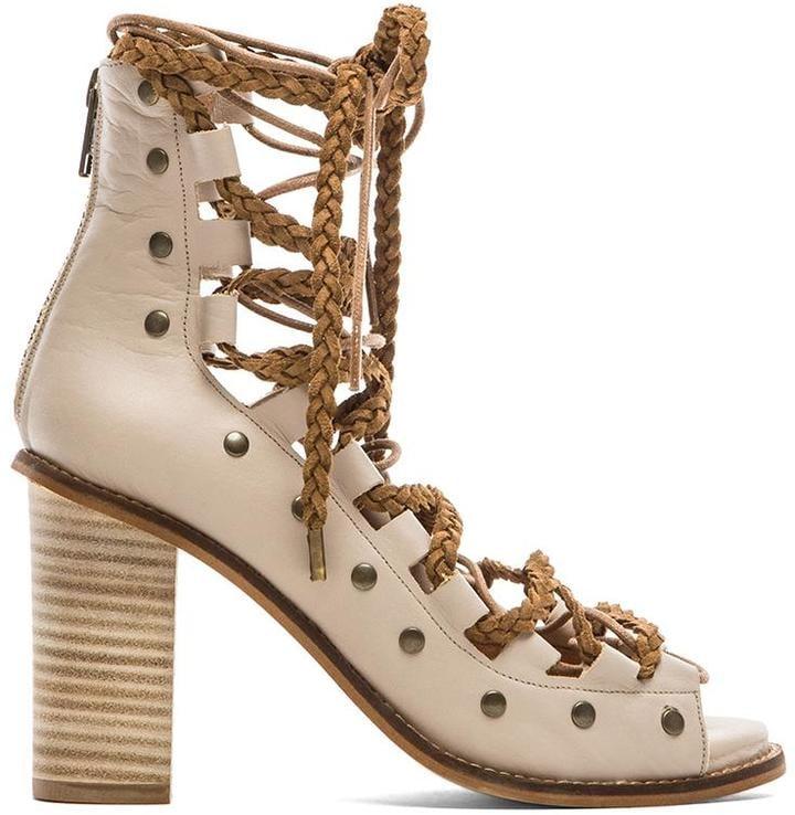 Free People Pember Lace-Up Heels ($198)