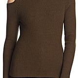 Theory Jemliss Cutout Turtleneck Sweater ($295)