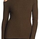 Theory Jemliss Cutout Turtleneck Sweater ($295)