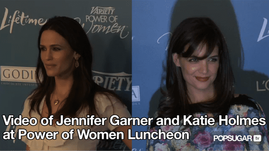 Video of Jennifer Garner and Katie Holmes at Power of Women Luncheon