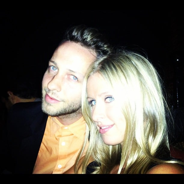 Nicky Hilton called Derek Blasberg her Fashion Week buddy. Source: Instagram user nickyhilton