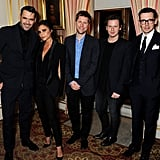 The five featured designers were Roland Mouret, Victoria Beckham, Christopher Bailey, Christopher Kane, and Erdem Moralioglu.