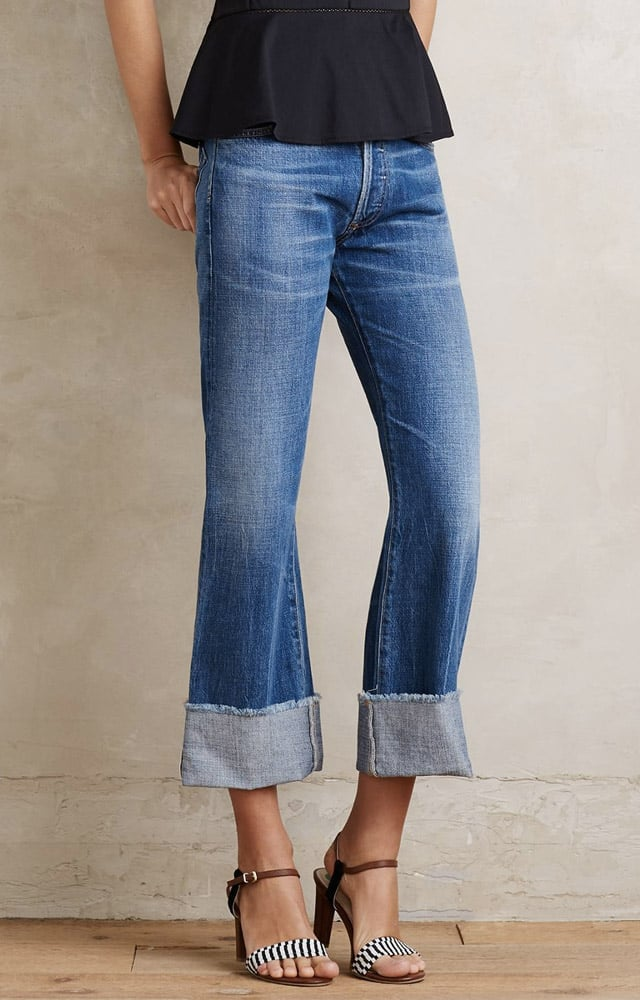 Citizens of Humanity 'Parker' Cuffed Crop Flare Jeans ($248)