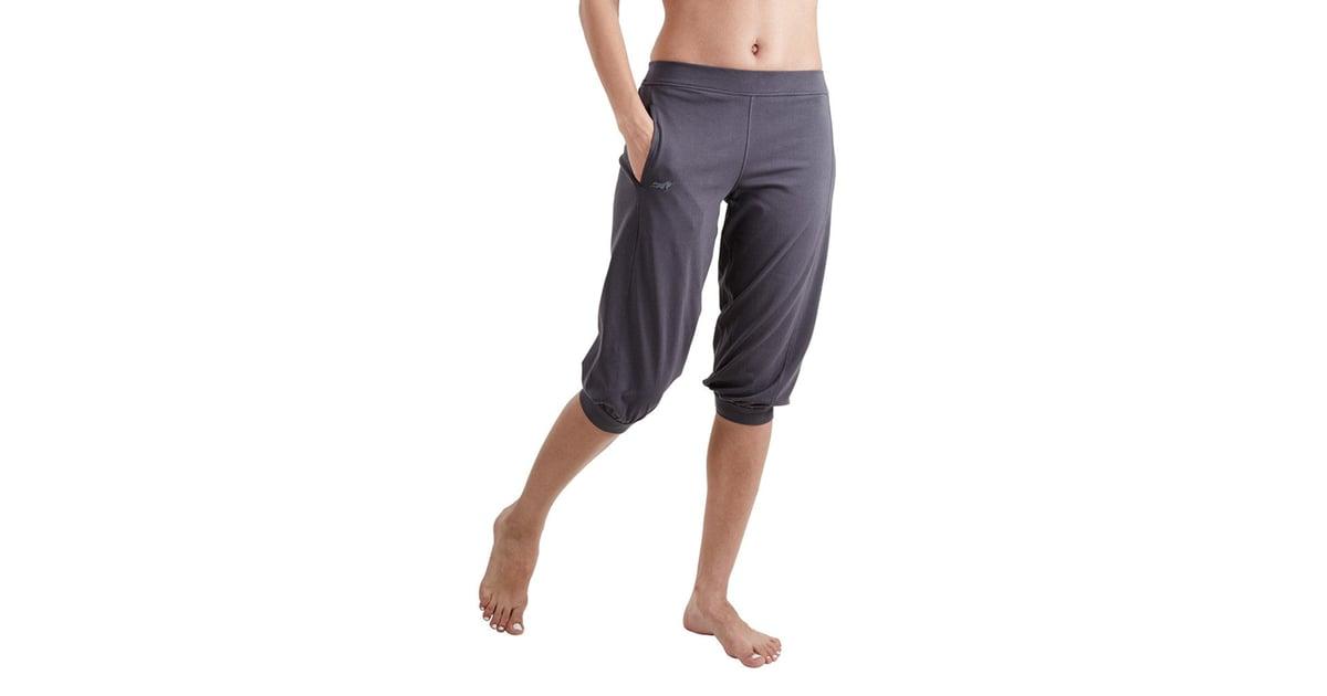 Proyog Women's Organic Yoga Relaxed Capri | Best Yoga ...