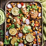 Chili Lime Chicken With Sweet Potatoes