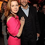 Bradley shared a sweet moment with costar Amy Adams.