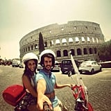 Ride a Vespa Around Rome