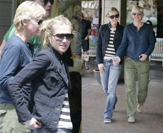 Ellen & Portia Take Towheaded Walk