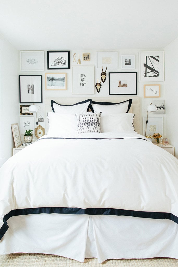 Cover An Iron Bed Frame With A Skirt 10 Affordable Ways To Get The Bedroom Of Your Dreams Popsugar Home Photo 7
