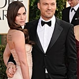 Megan Fox and Brian Austin Green arrived at the 2013 Golden Globes.