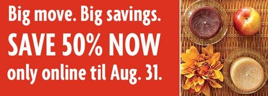 Sale Alert: 50 % Off at Pier 1 Online