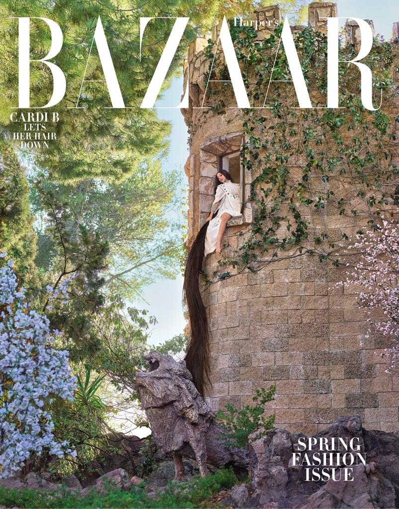 Cardi B Harper's Bazaar
