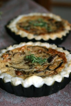Today's Special: Zucchini, Mushroom and Taleggio Tart