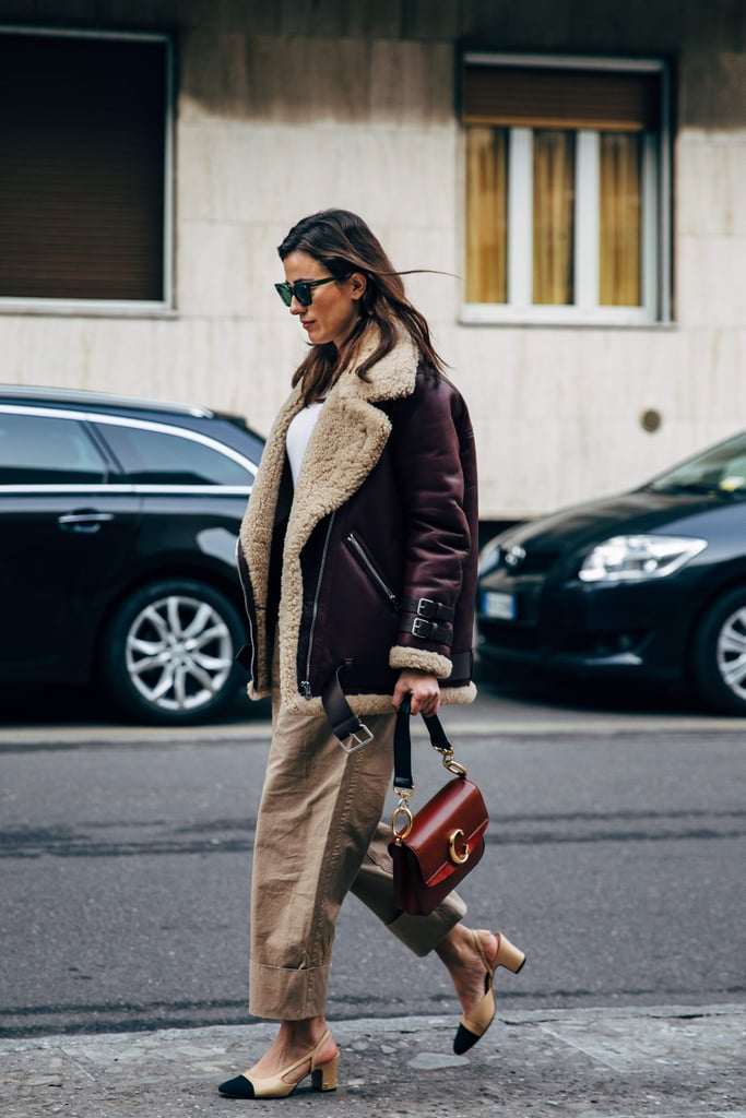 Milan Fashion Week Street Style Fall 2019 | POPSUGAR Fashion