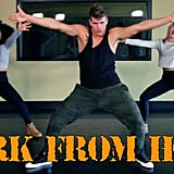 """""""Work From Home"""" From The Fitness Marshall"""