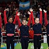 When Team USA won all-around team gold (again).