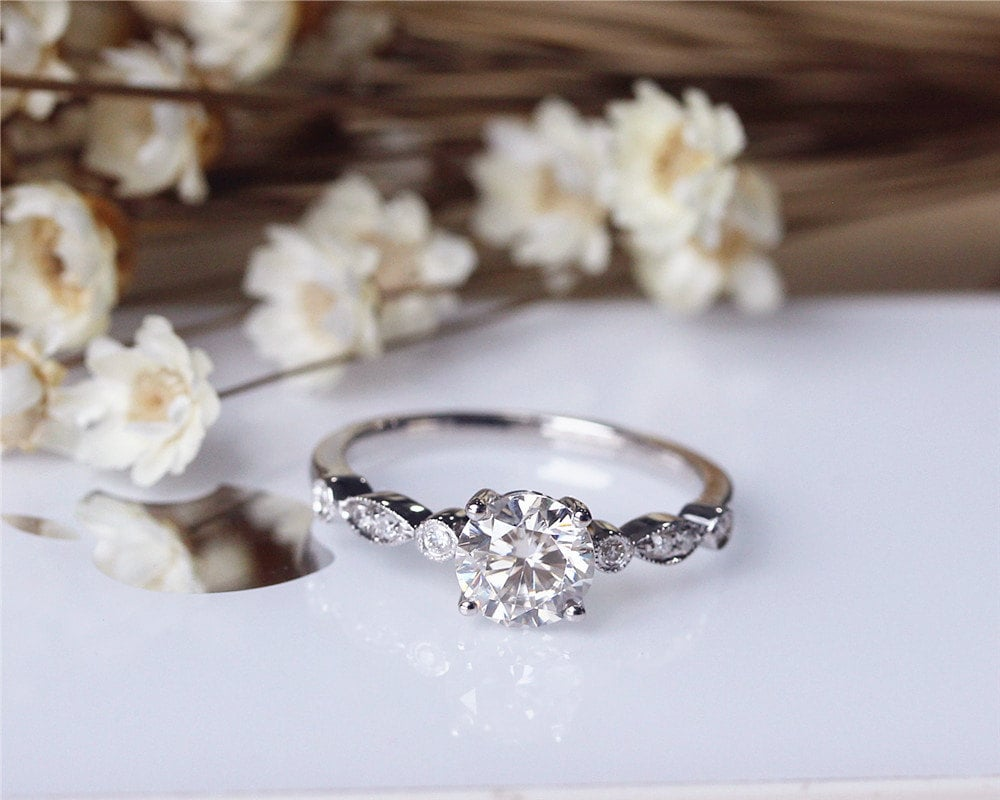 Pretty Engagement Rings From Etsy POPSUGAR Fashion Australia