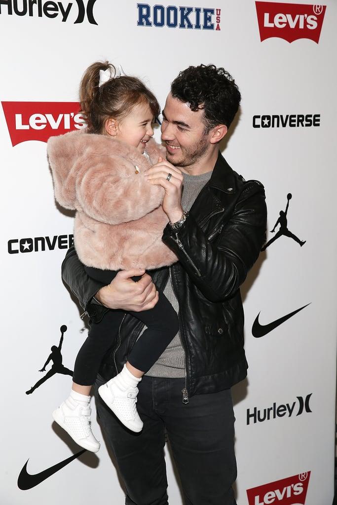 Kevin Jonas' Daughter Alena Dancing to Jonas Brothers Videos