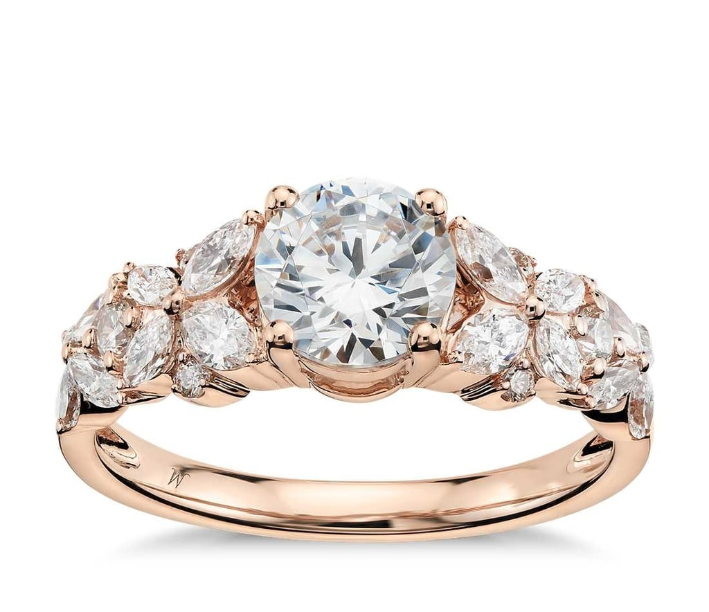 Unique Rose Gold Engagement Rings