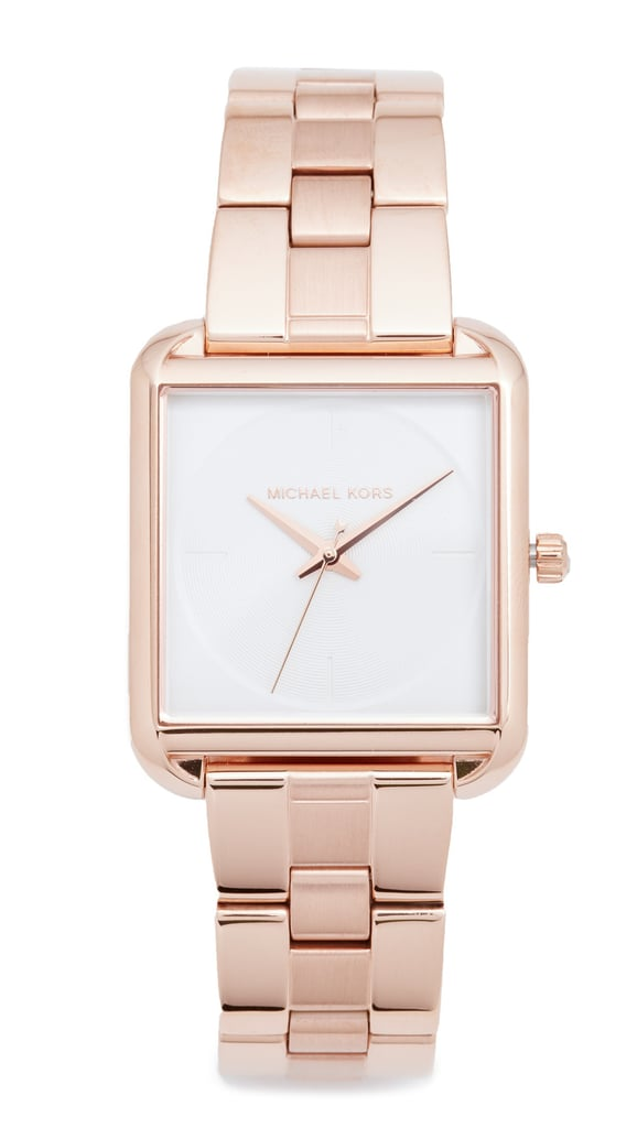 The rose gold shade of Michael Kors's Lake Watch ($225) fits with every outfit.