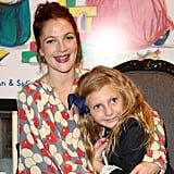 Drew Barrymore wrapped her arms around her boyfriend's niece.