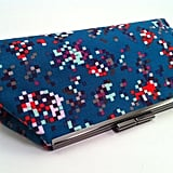 Multicolored Pixel Clutch ($65)