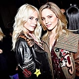 Poppy Delevingne and Dianna Agron