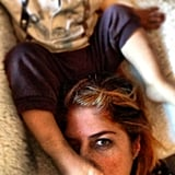 Selma Blair relaxed with her son, Arthur, one afternoon. Source: Instagram user babysaint