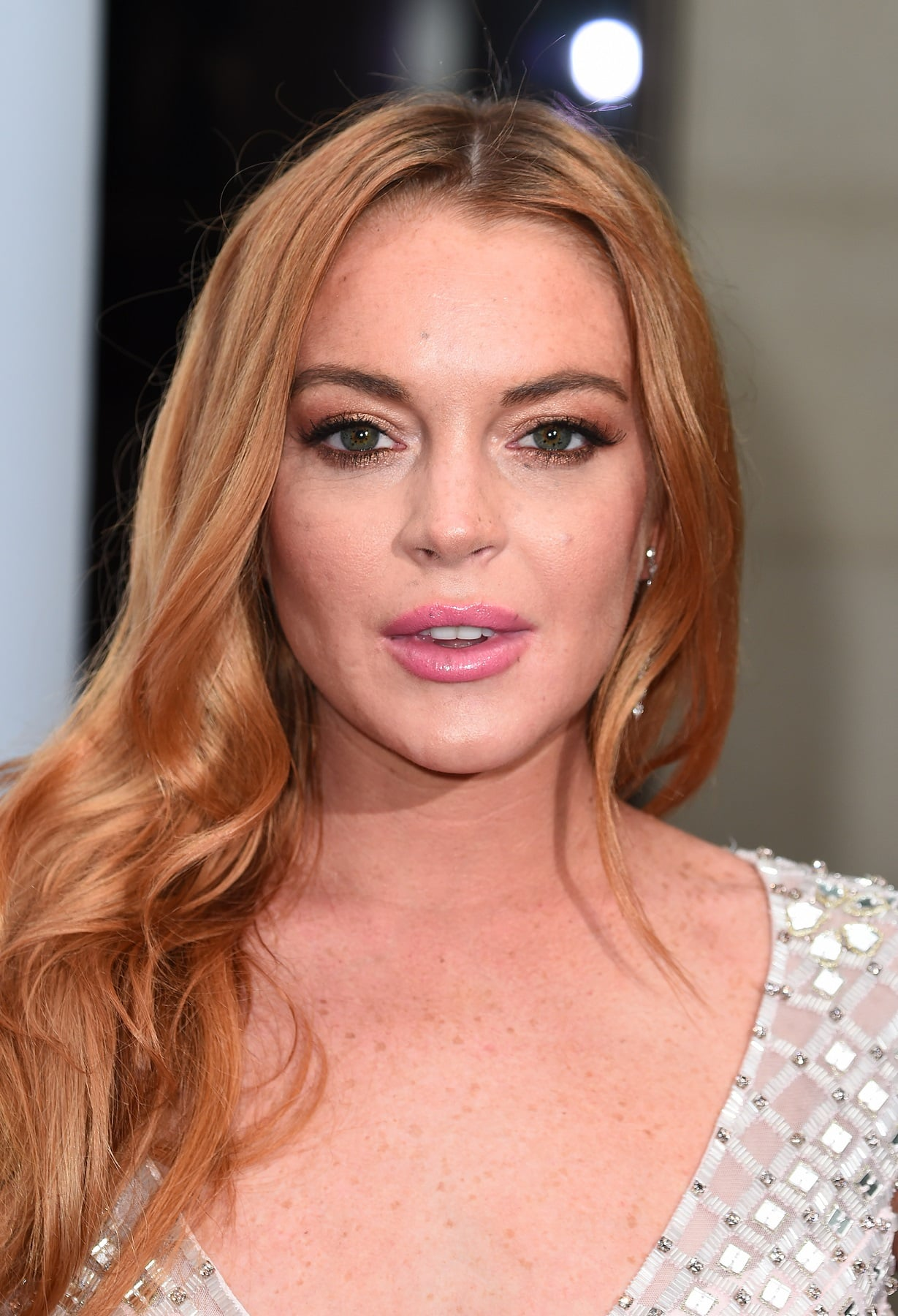LONDON, ENGLAND - JUNE 22:  Lindsay Lohan arrives for the 2016 Butterfly Ball  at The Grosvenor House Hotel on June 22, 2016 in London, England.  (Photo by Eamonn McCormack/Getty Images)