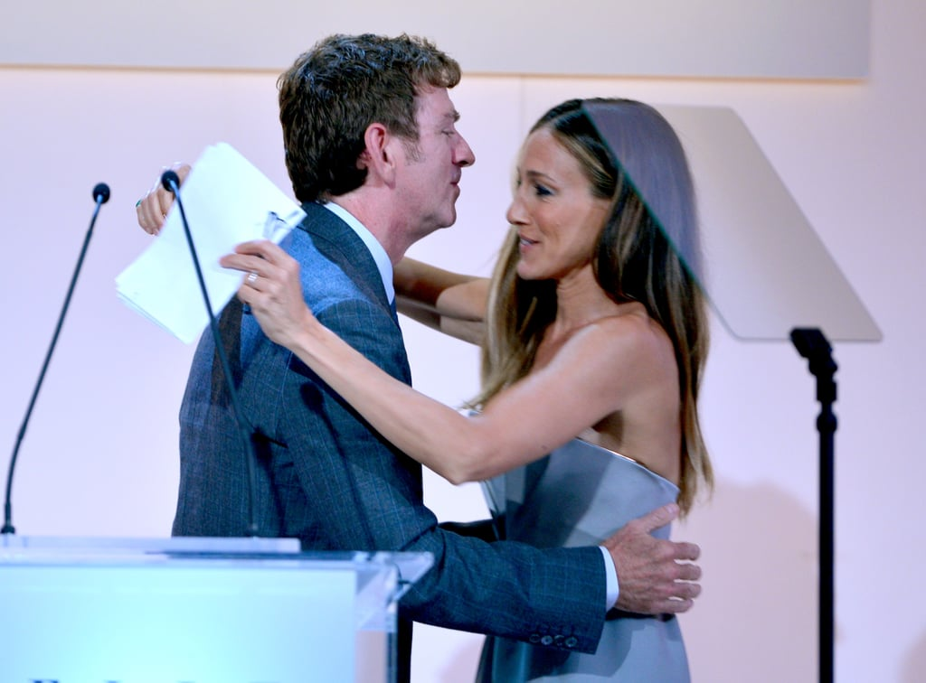 Sarah Jessica Parker appeared on stage at the awards.
