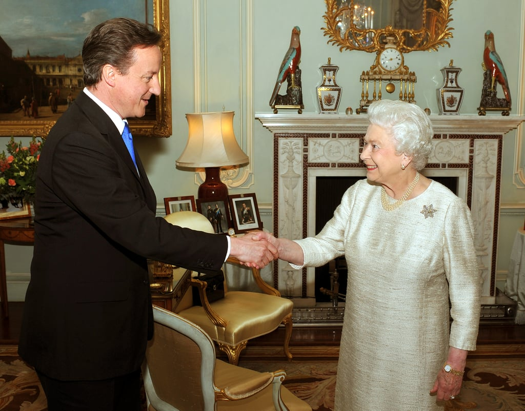 Pictures of David Cameron New Prime Minister