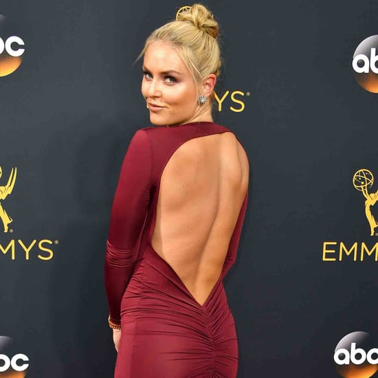 Lindsey Vonn at the 2016 Emmys