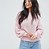 Miss Selfridge Petite Balloon-Sleeve Sweater