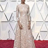 Letitia Wright at the 2019 Oscars
