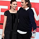 Rooney Mara and Joaquin Phoenix