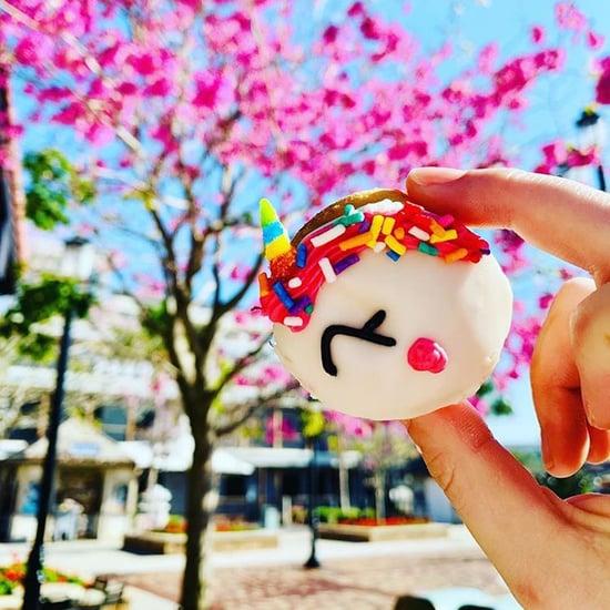 Unicorn Mini Doughnuts at Disney Springs