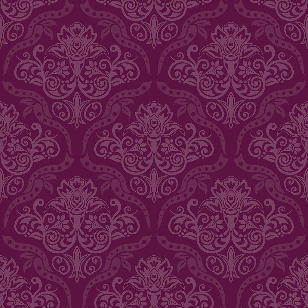 Wallsbyme Peel And Stick Purple Damask Basic Fabric Removable Wallpaper Best Wallpaper On Amazon Popsugar Home Australia Photo 14