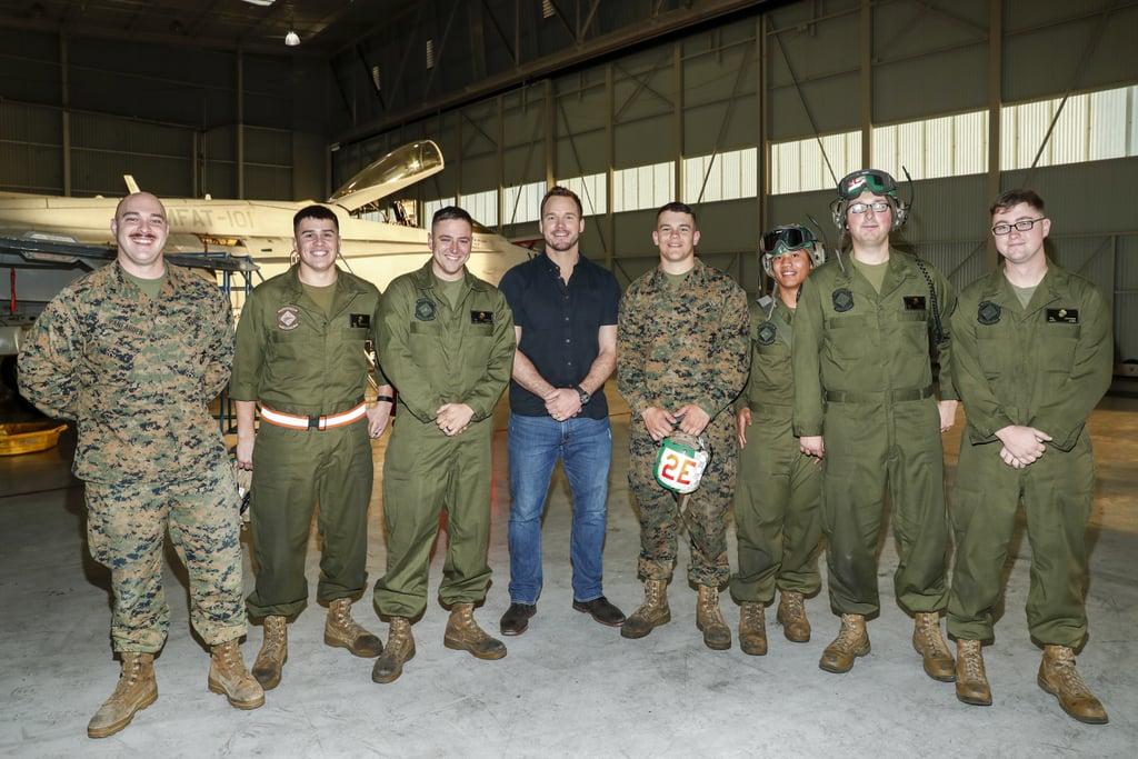 Marine Corps Wedding Rings 92 Cute Chris Pratt at Marine